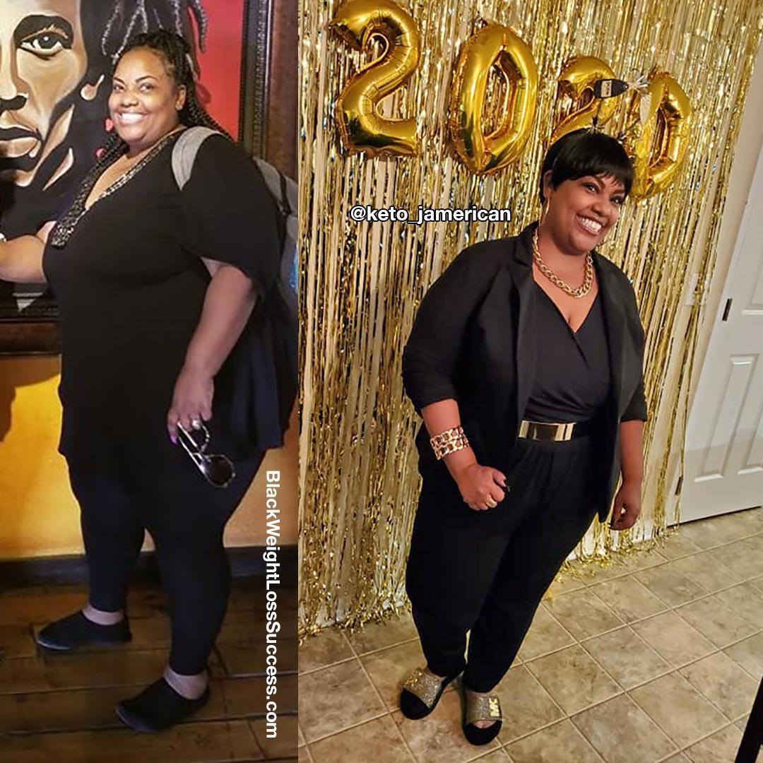Tiffany's keto weight loss journey