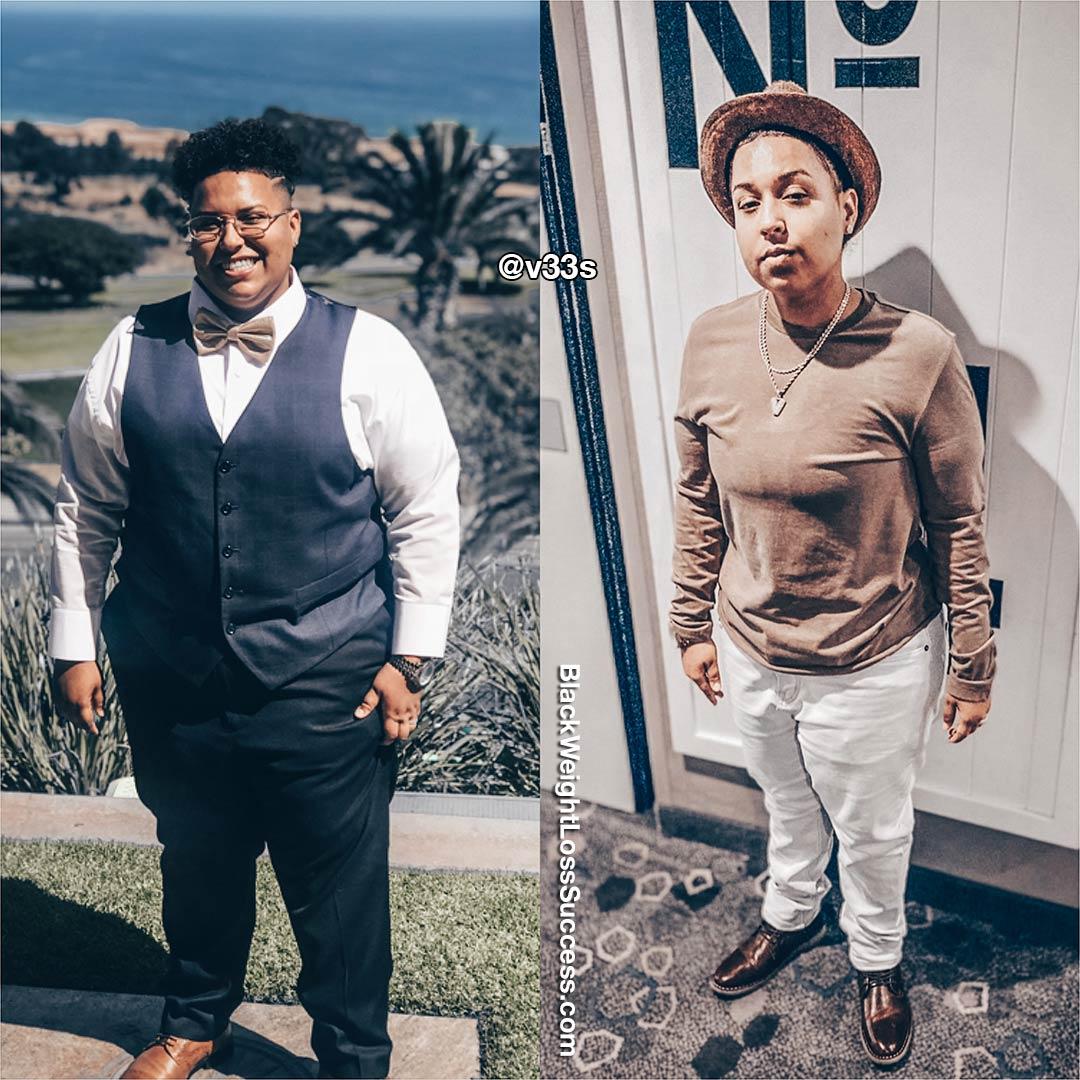 Vee's weight loss journey