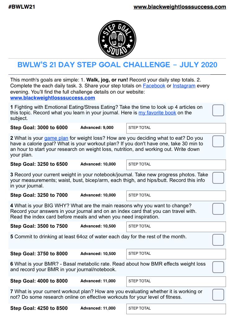 July Challenge 2020