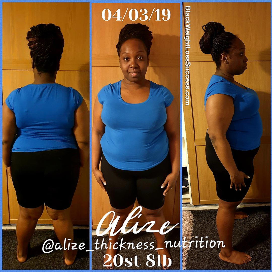 Alize before and after
