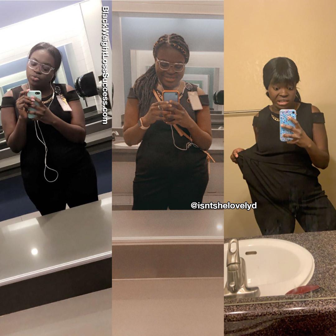 Adorável antes e depois
