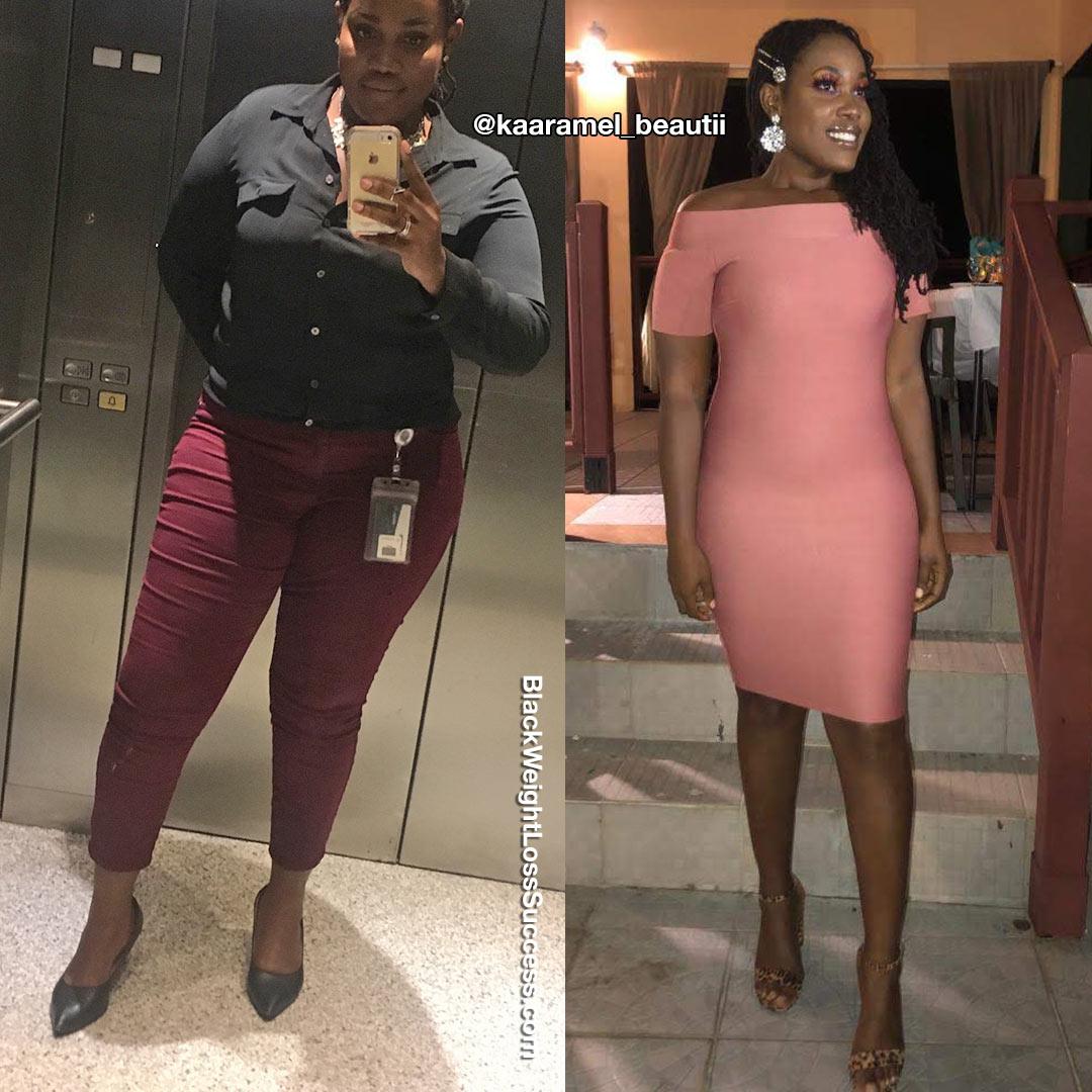 Sashauna antes e depois
