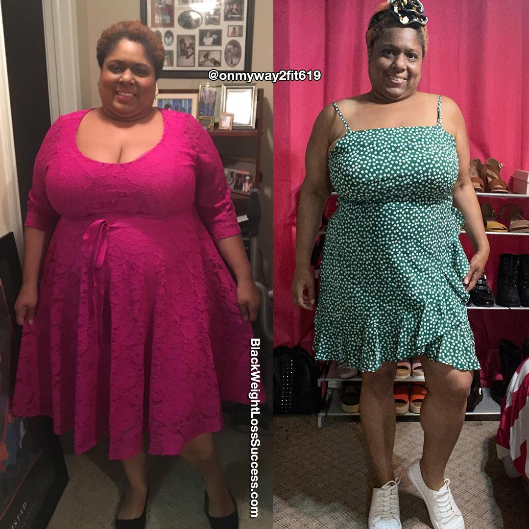 Vicki antes e depois