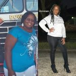 Chantelle before and after weight loss