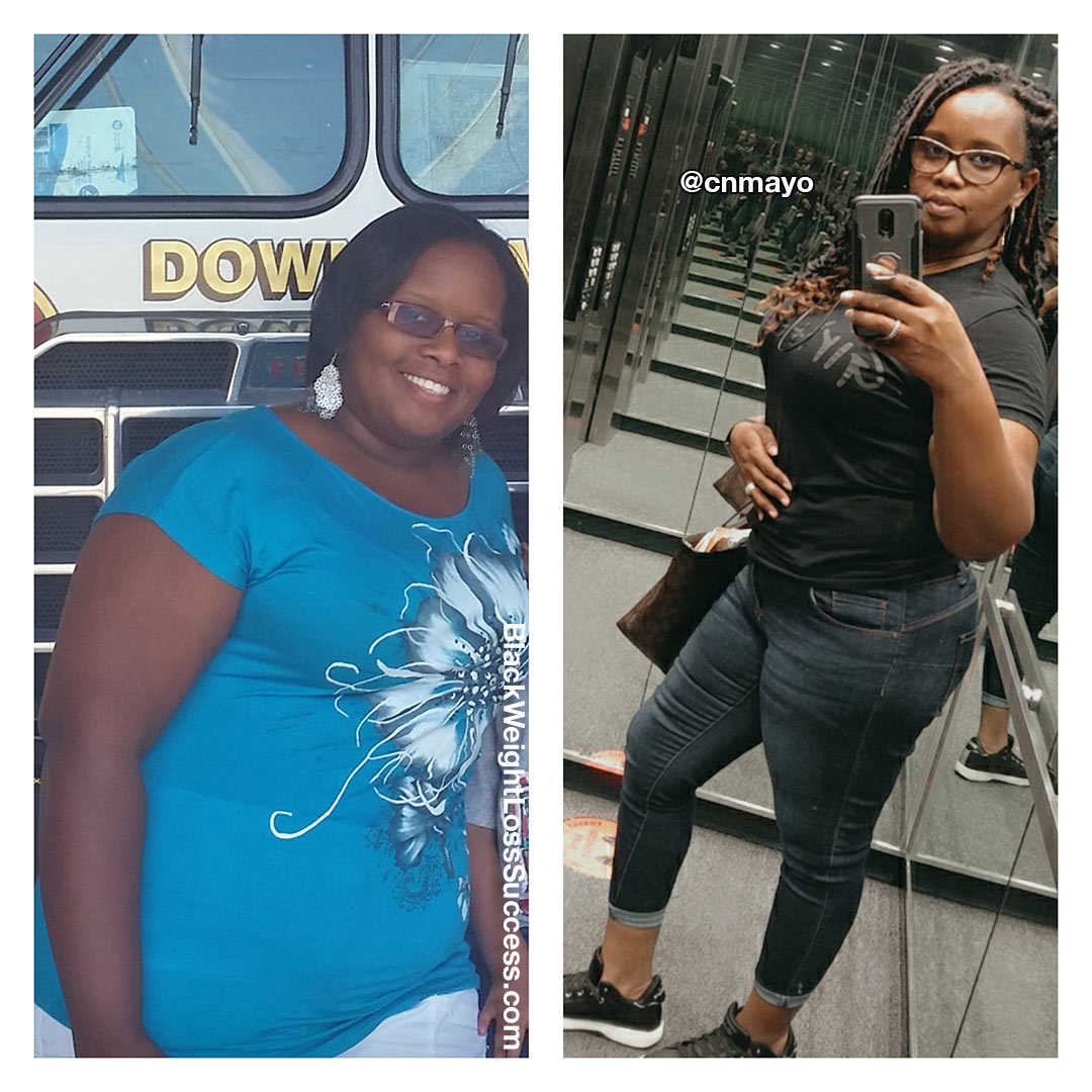 Chantelle before and after