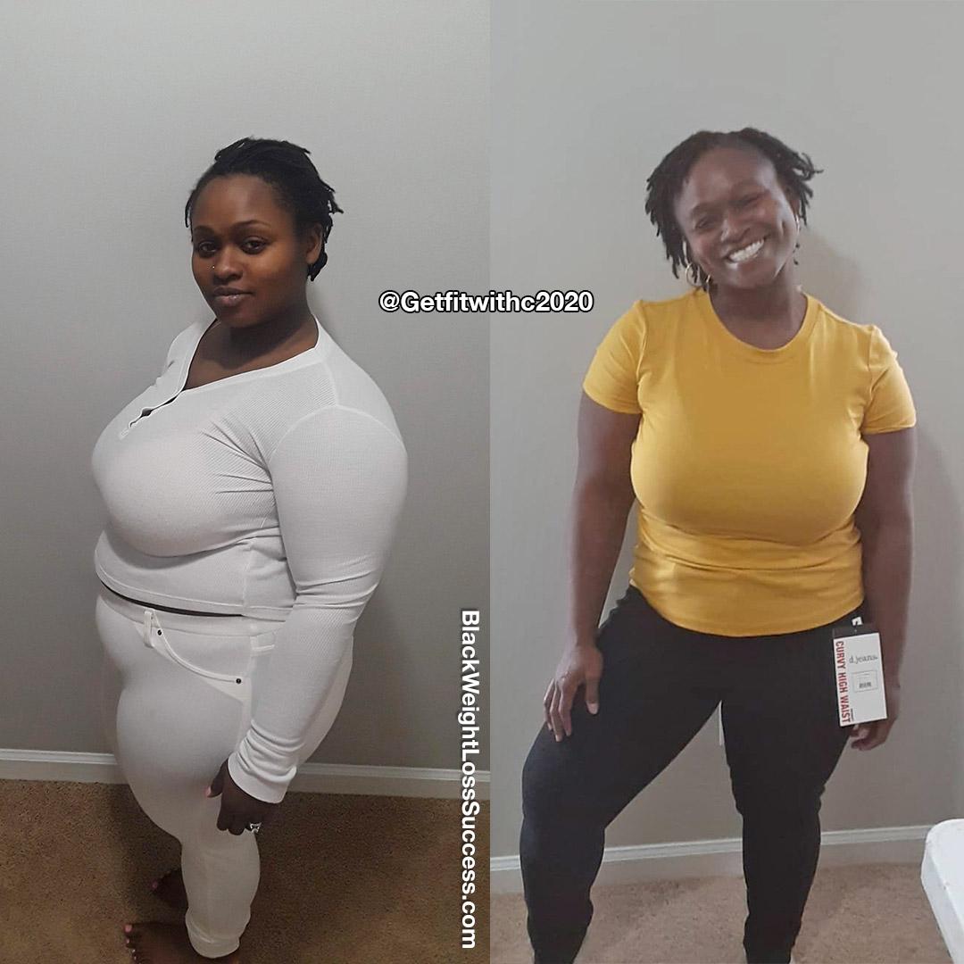 Carla antes e depois