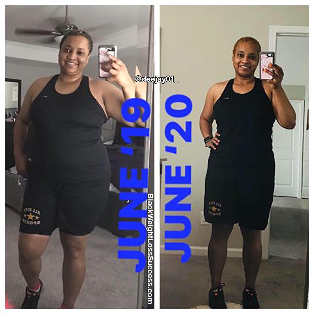 Denise perdeu 39 quilos | Sucesso de perda de peso preto 10
