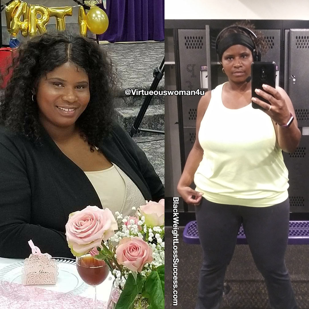 Tamika before and after