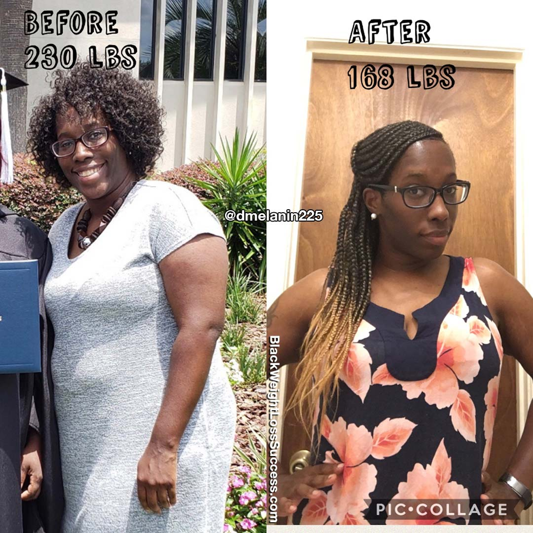 Denise lost 65 pounds