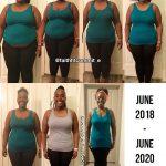 Erica weight loss journey