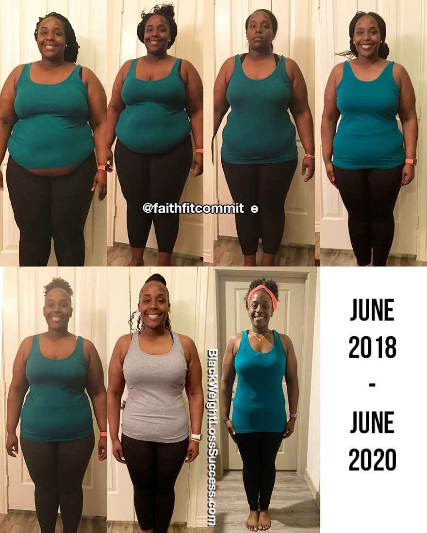 Erica weight loss journey