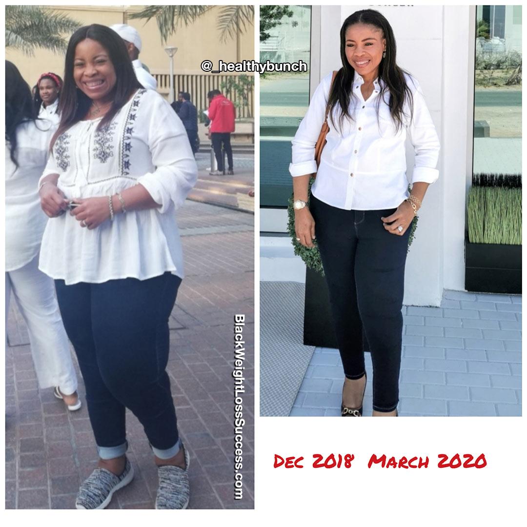 Ikepo Amanda weight loss story