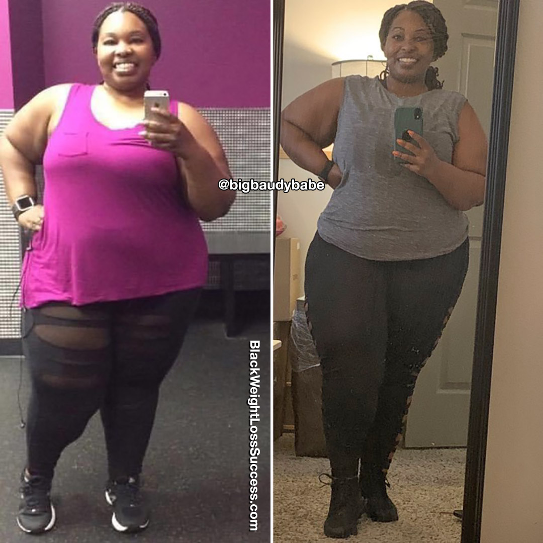 Photo of Jessica lost 40 pounds. | Black Weight Loss Success
