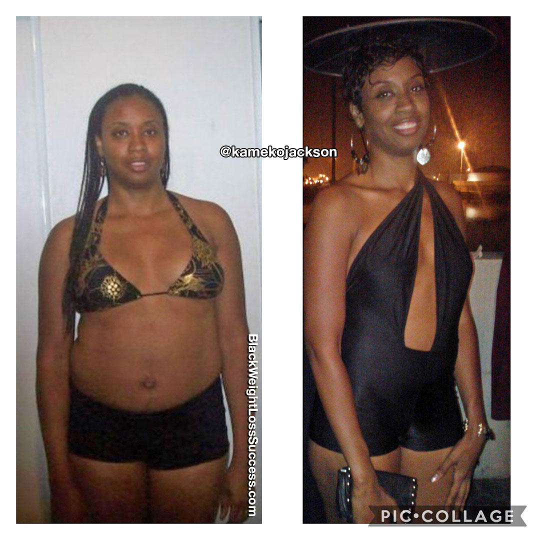 Photo of Kameko lost 27 pounds | Black Weight Loss Success