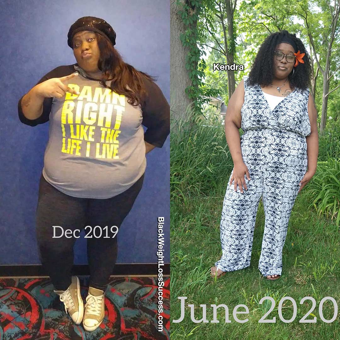 Photo of Kendra lost 137 pounds | Black Weight Loss Success