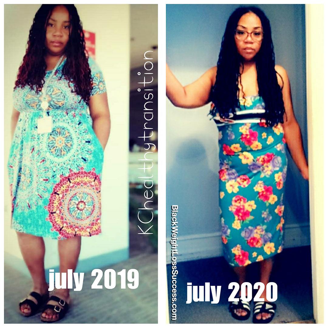KrisCynthia antes e depois
