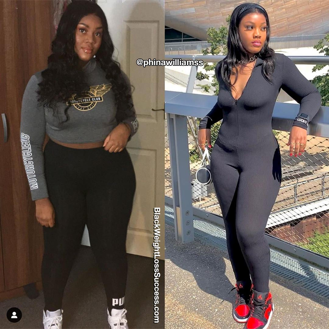 Photo of Raphina lost 21 pounds | Black Weight Loss Success