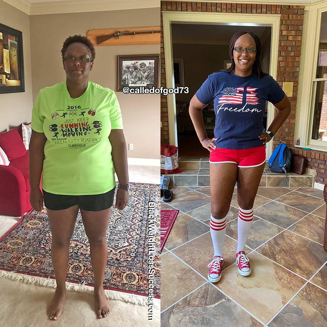 Tammy antes e depois