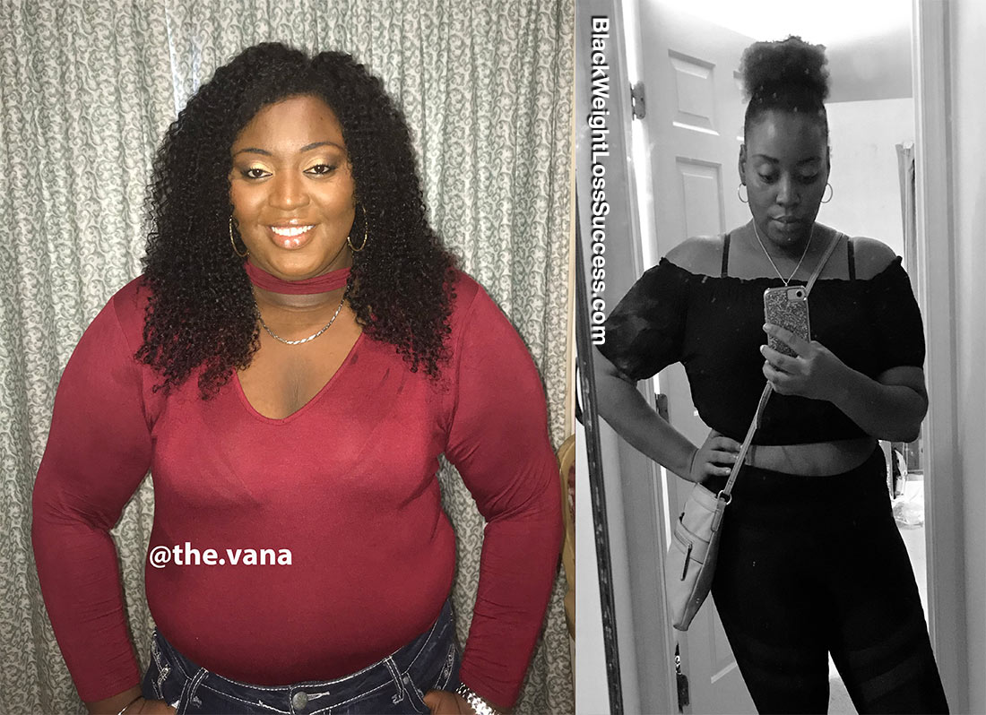 Vana before and after