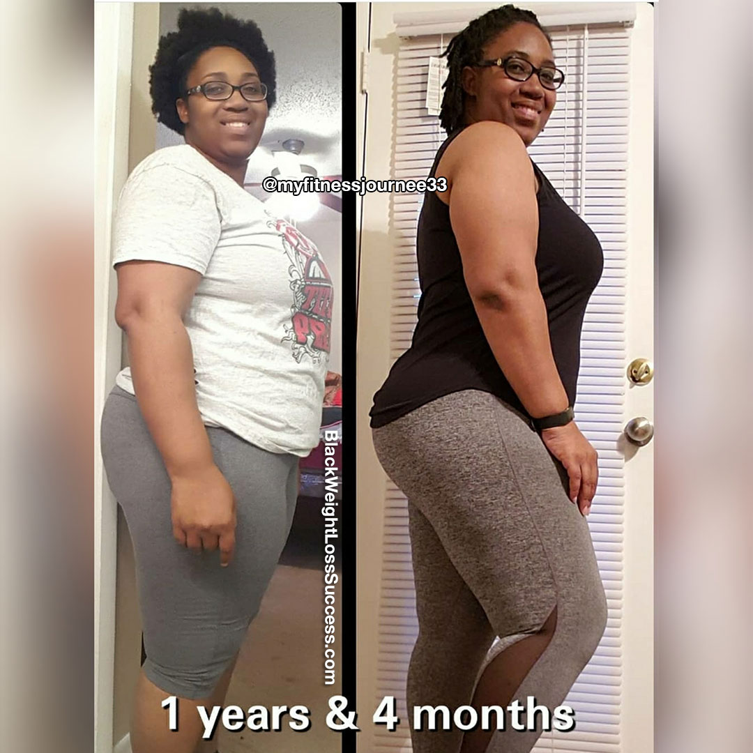 Photo of April lost 33 pounds | Black Weight Loss Success