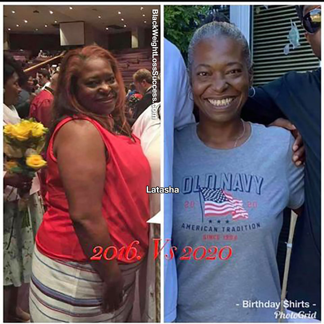 Latasha before and after