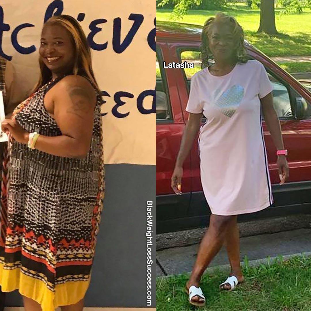 Photo of Latashalost 148 pounds   Black Weight Loss Success