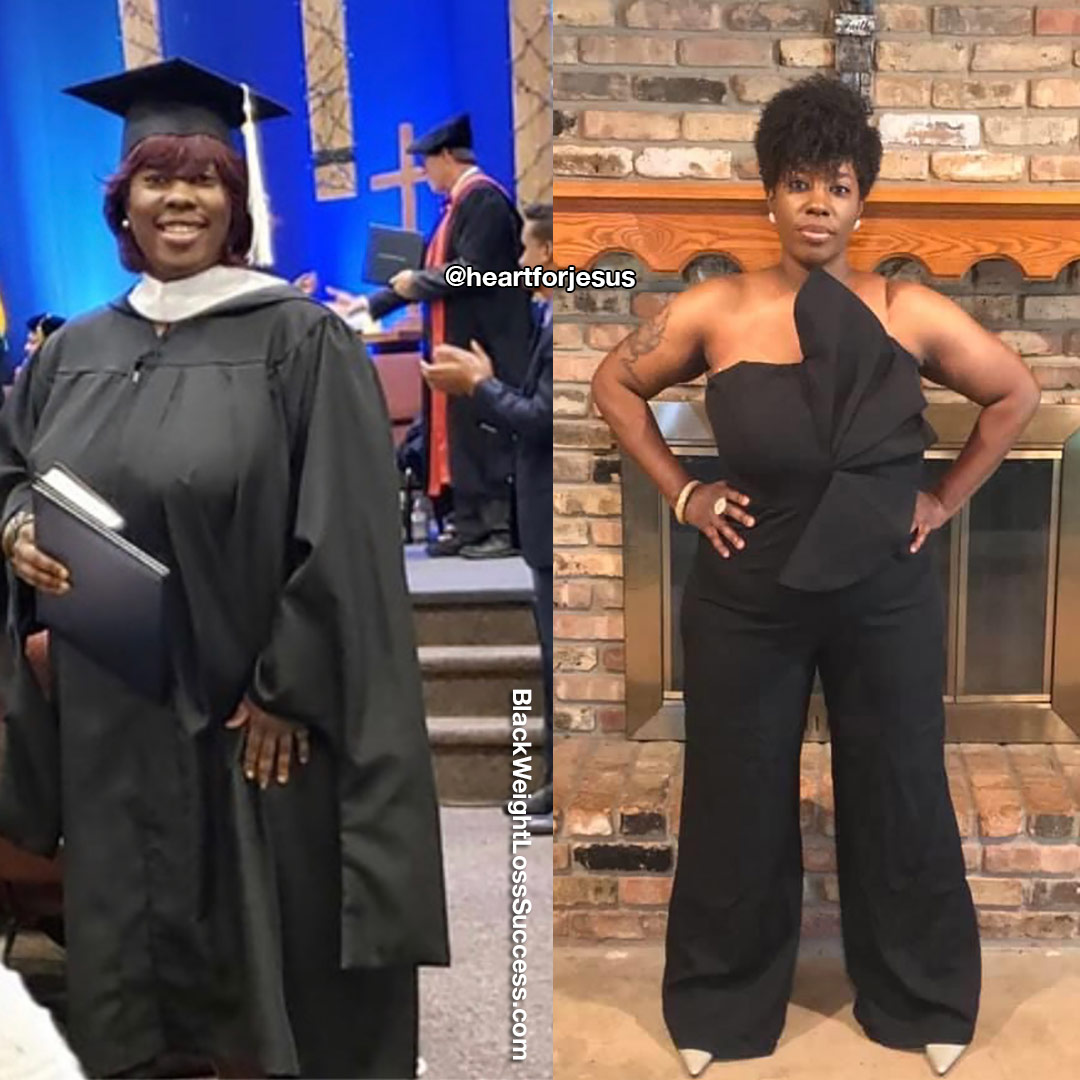 Photo of Latrice lost 76 pounds   Black Weight Loss Success