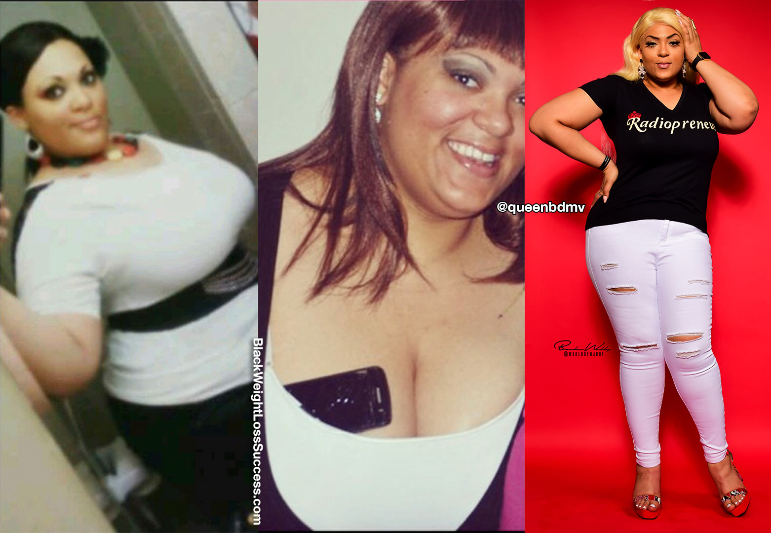 Brittney before and after