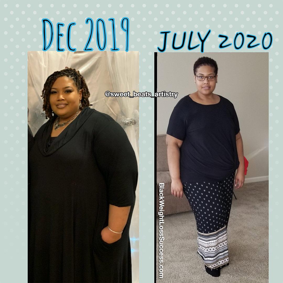Candace lost 146 pounds
