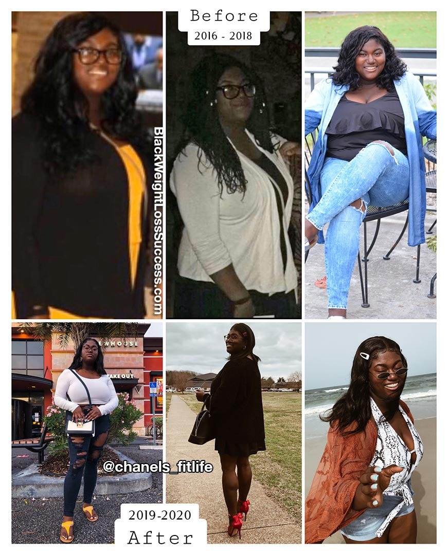 Chanel antes e depois