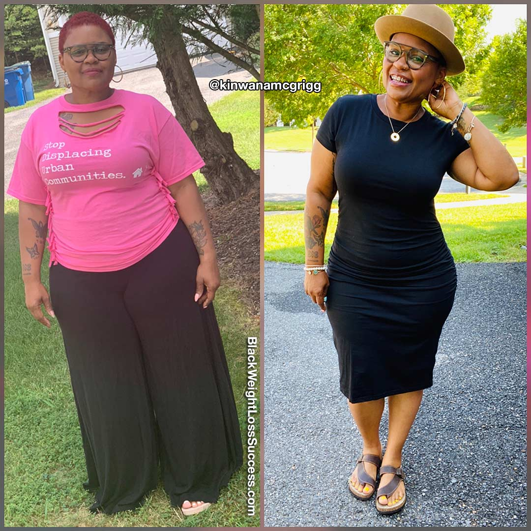 Kinwana before and after