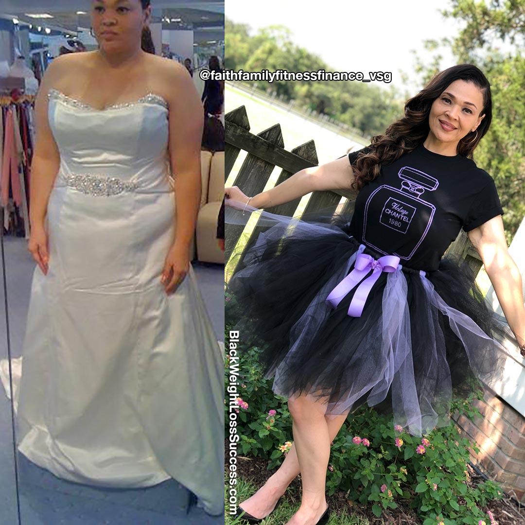 Chantel lost 115 pounds