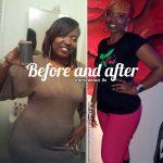 Khadijatu before and after