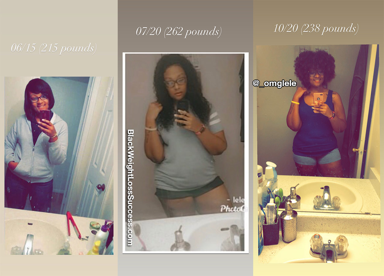 Elethia antes e depois