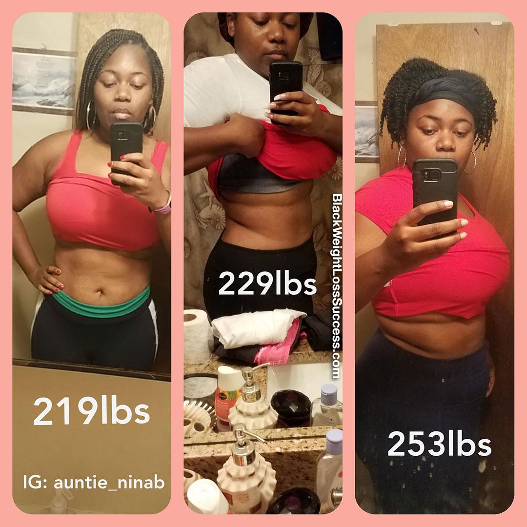 Nina antes e depois