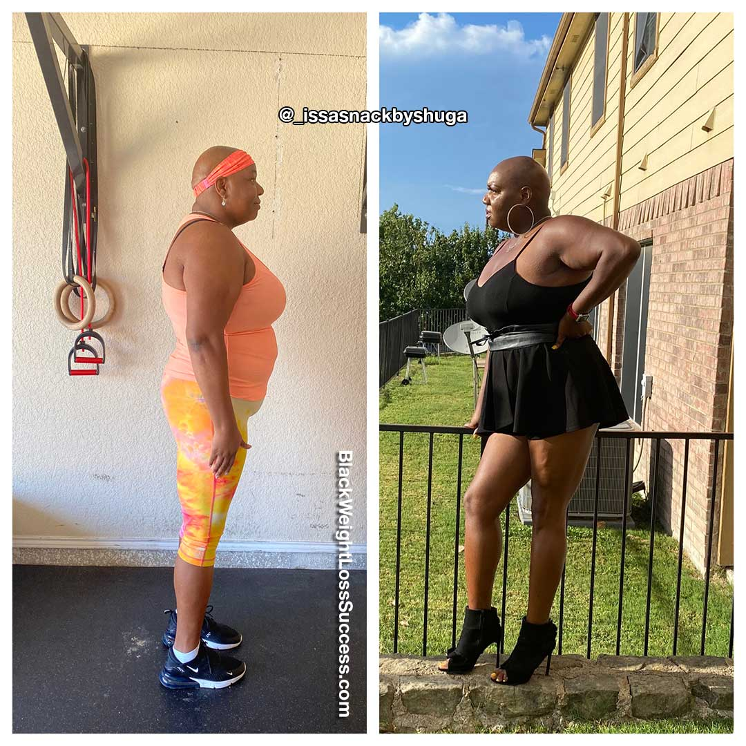 Jacquesha before and after