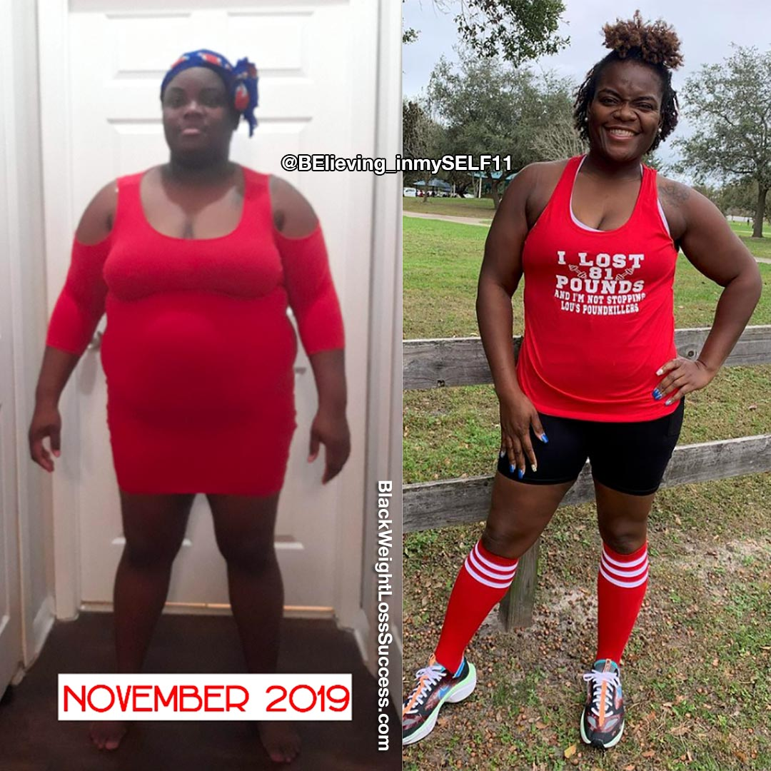 Reshea before and after