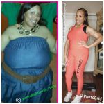Corine before and after