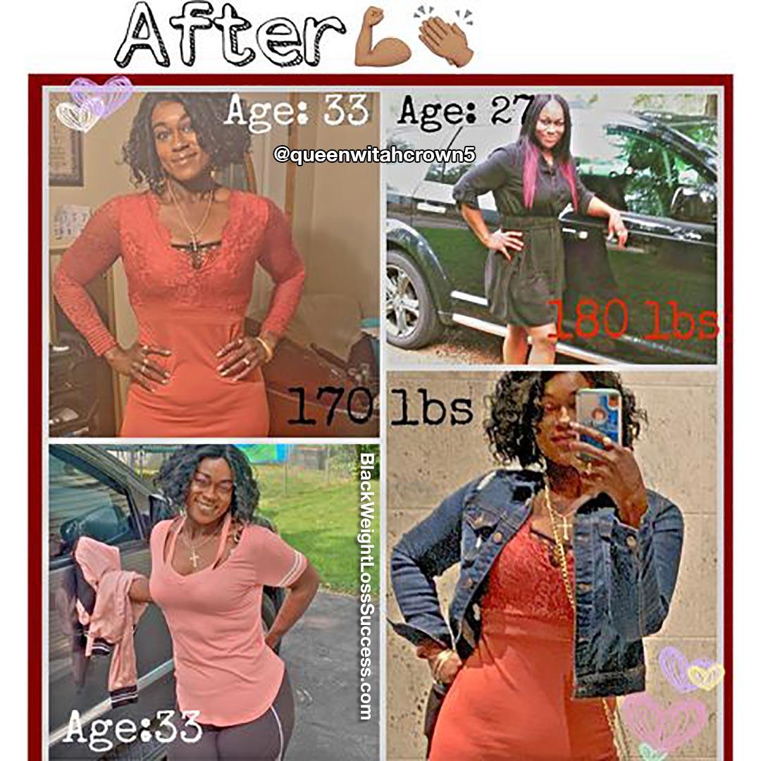 Whitney após perda de peso