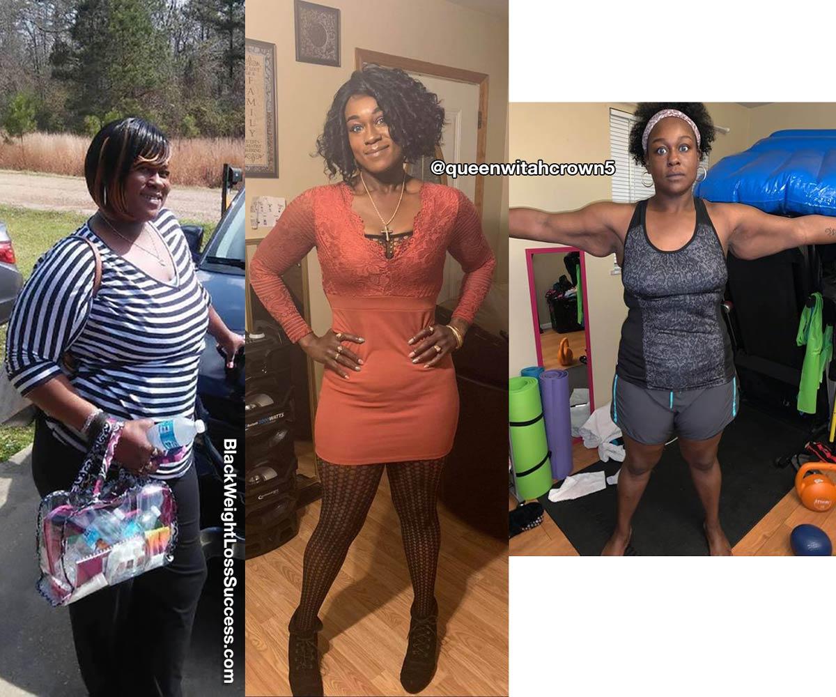Whitney antes e depois