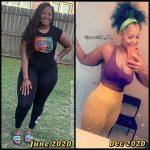Nikeesha before and after weight loss