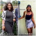 Doreen before and after weight loss