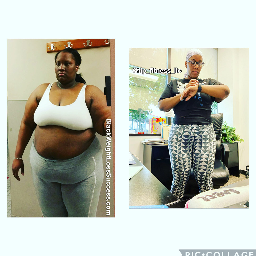 Jeria before and after weight loss