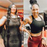 Keisha before and after weight loss