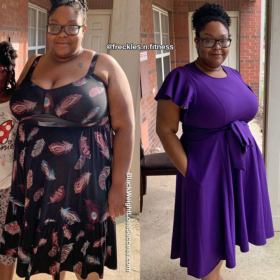 Keli before and after weight loss