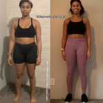 Maya before and after weight loss