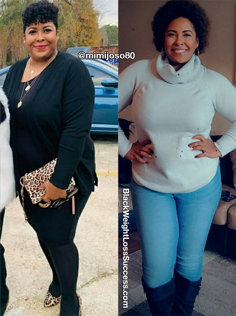 Mimi lost 51 pounds