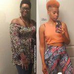 Nina before and after weight loss