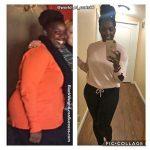Shameka before and after
