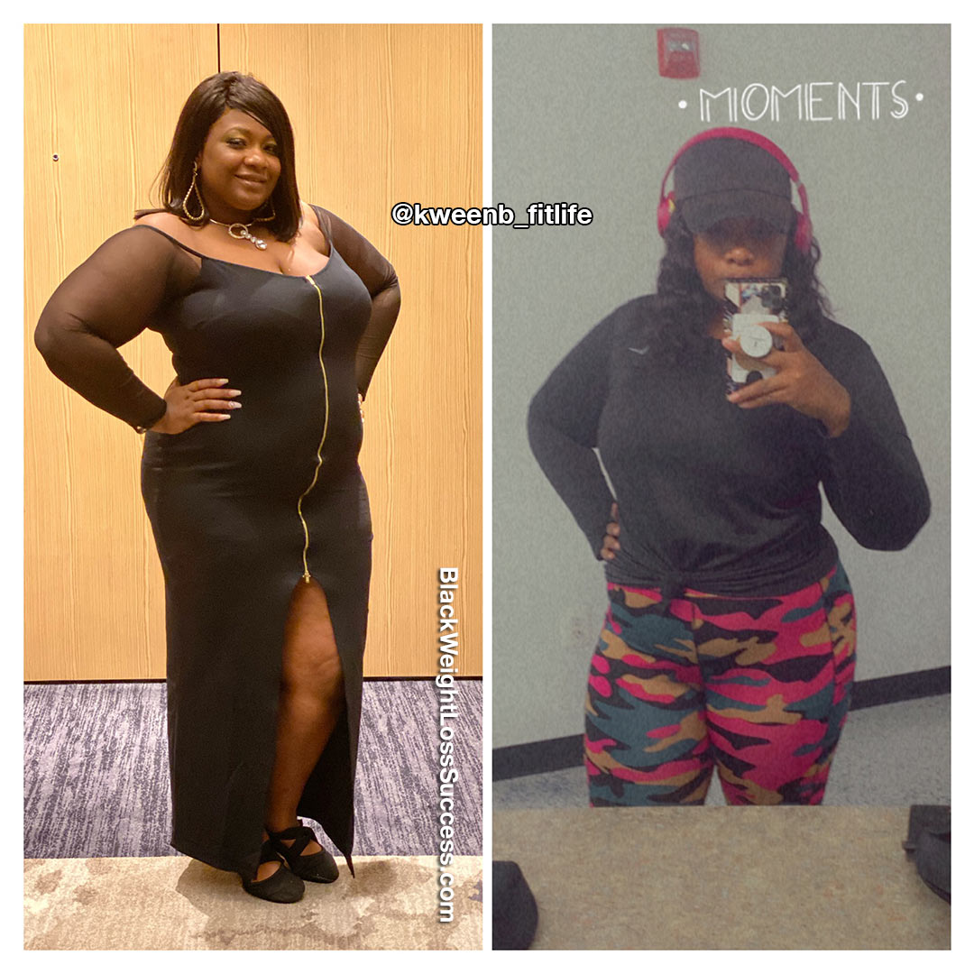 Stacey before and after weight loss